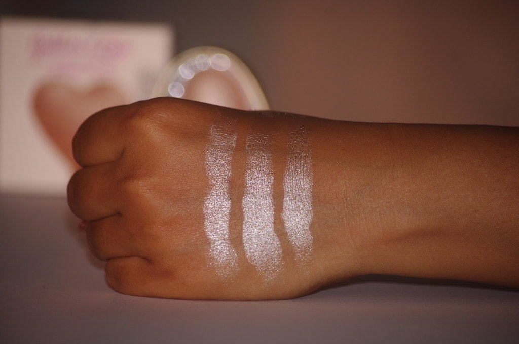 The Product Is Highly Pigmented Makeup Revolution London Triple Baked Highlighter Dess Of