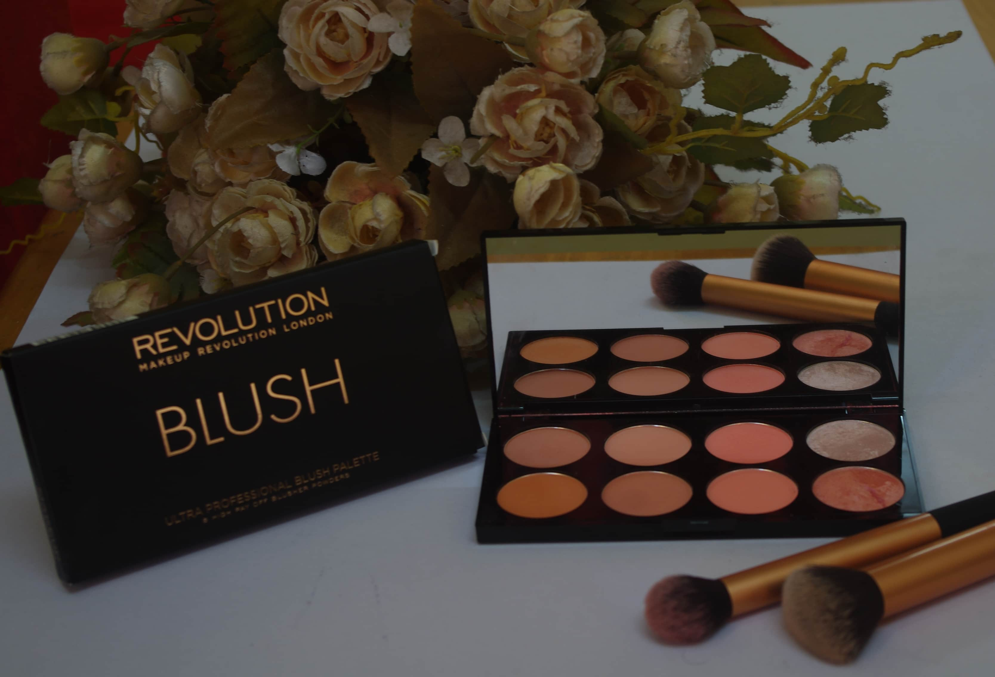 Makeup Revolution Ultra Blush Palette Hot Spice Review Sushmita S