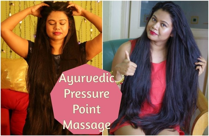 Indian Ayurveda Marma Pressure Point Head Massage For Extreme Hair Growth & Relaxation