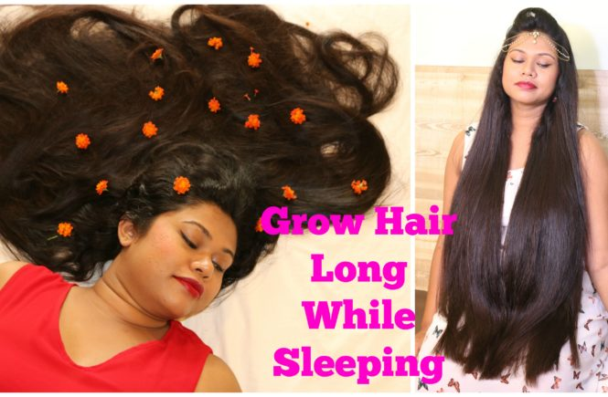 how to grow your hair while sleeping
