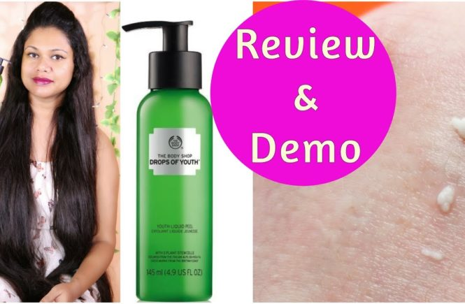 The Body Shop Drops Of Youth Liquid Peel Mask Review